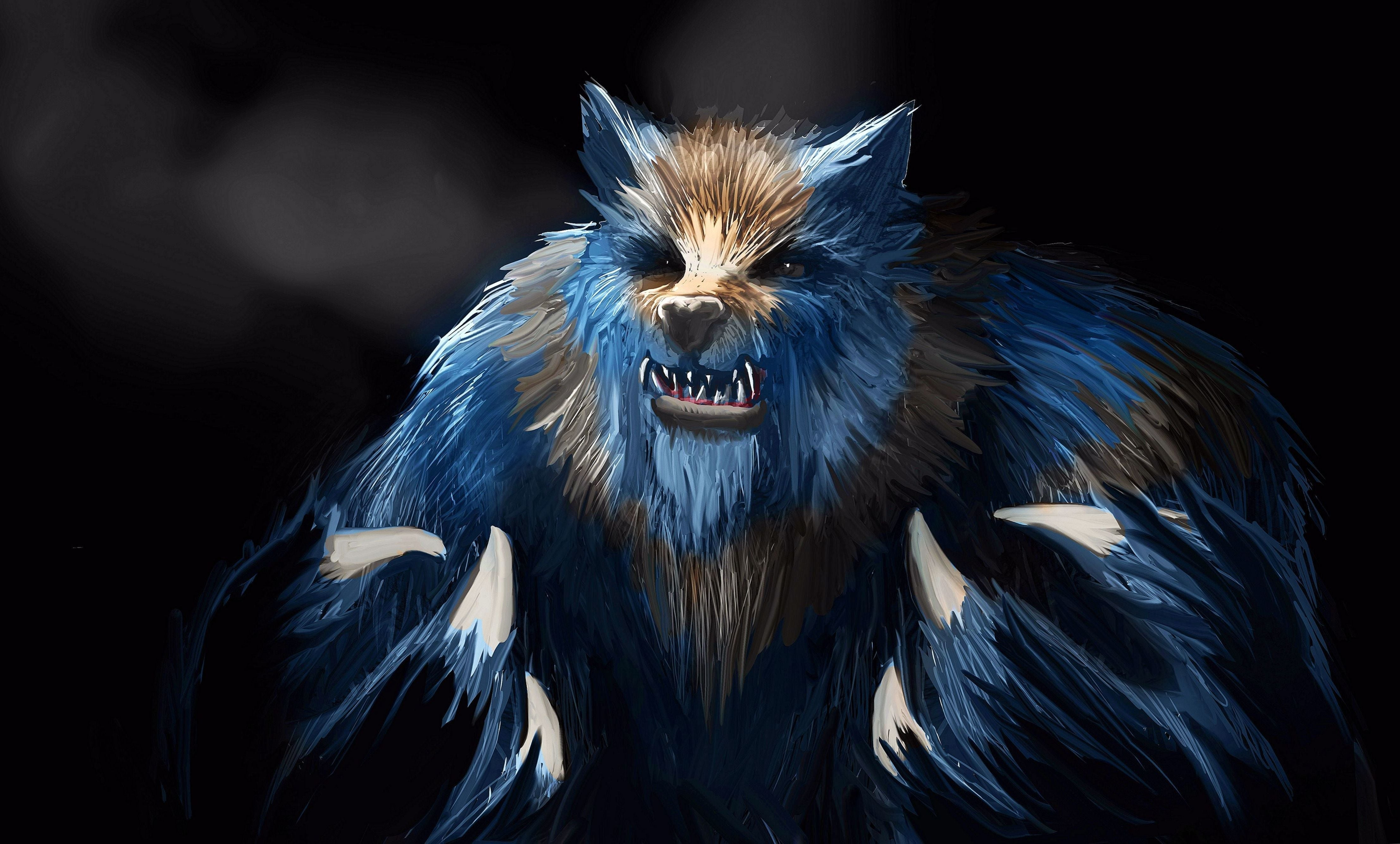 Wallpapers 4k Ultra Hd Werewolf - Ultra Hd Wolf Wallpapers 4k , HD Wallpaper & Backgrounds