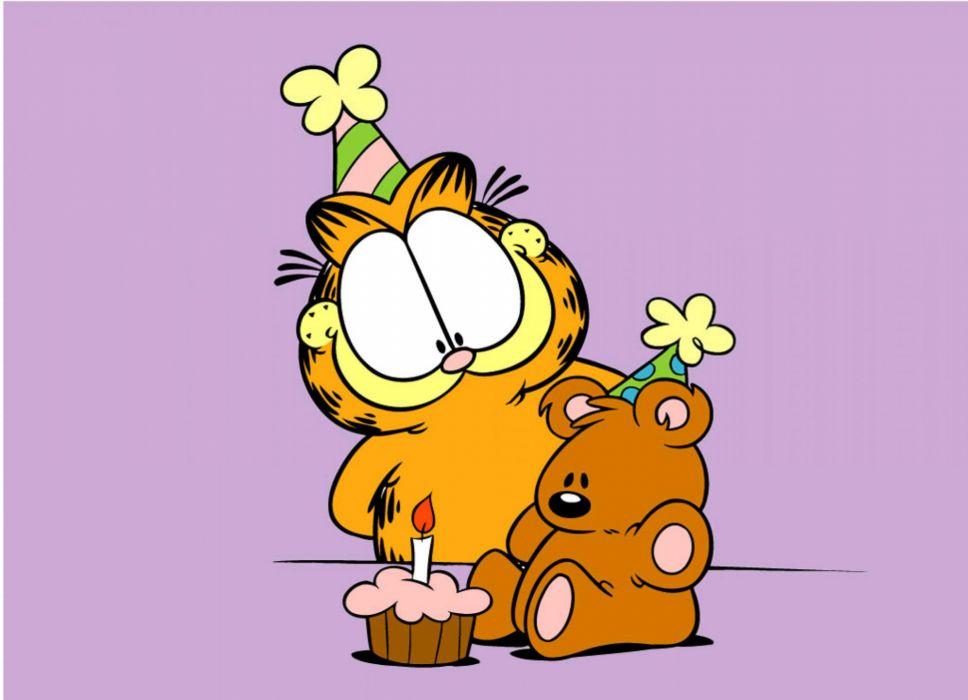 Garfield Birthday Fs Wallpaper Garfield And Pooky Birthday 2947889 Hd Wallpaper Backgrounds Download