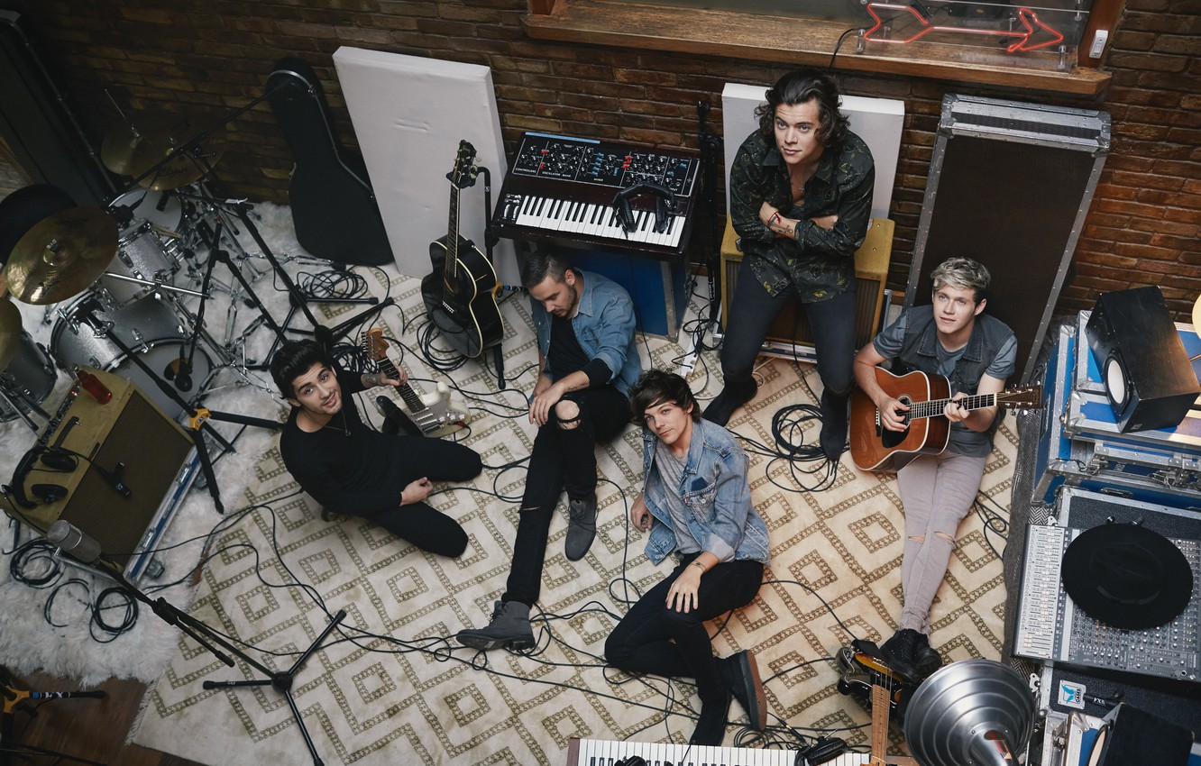 Photo Wallpaper Music, One Direction, Louis, Liam, - One Direction Four Photoshoot , HD Wallpaper & Backgrounds