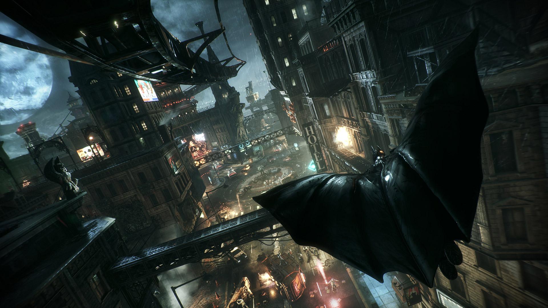 Arkham Knight Wallpaper In Batman Arkham Knight 4k Pc 2954819 Hd Wallpaper Backgrounds Download