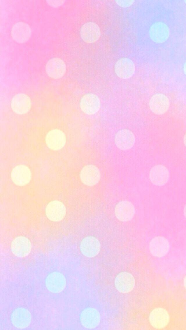 Distressed Polka Dots Iphone Wallpaper - Cute Polka Dot Iphone , HD Wallpaper & Backgrounds