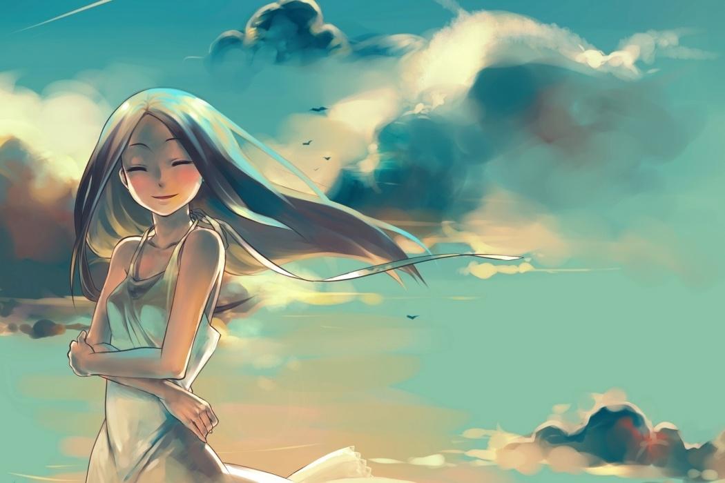 Animated Girl, Cutest, Beautiful - Beautiful Animation Wallpaper Hd , HD Wallpaper & Backgrounds
