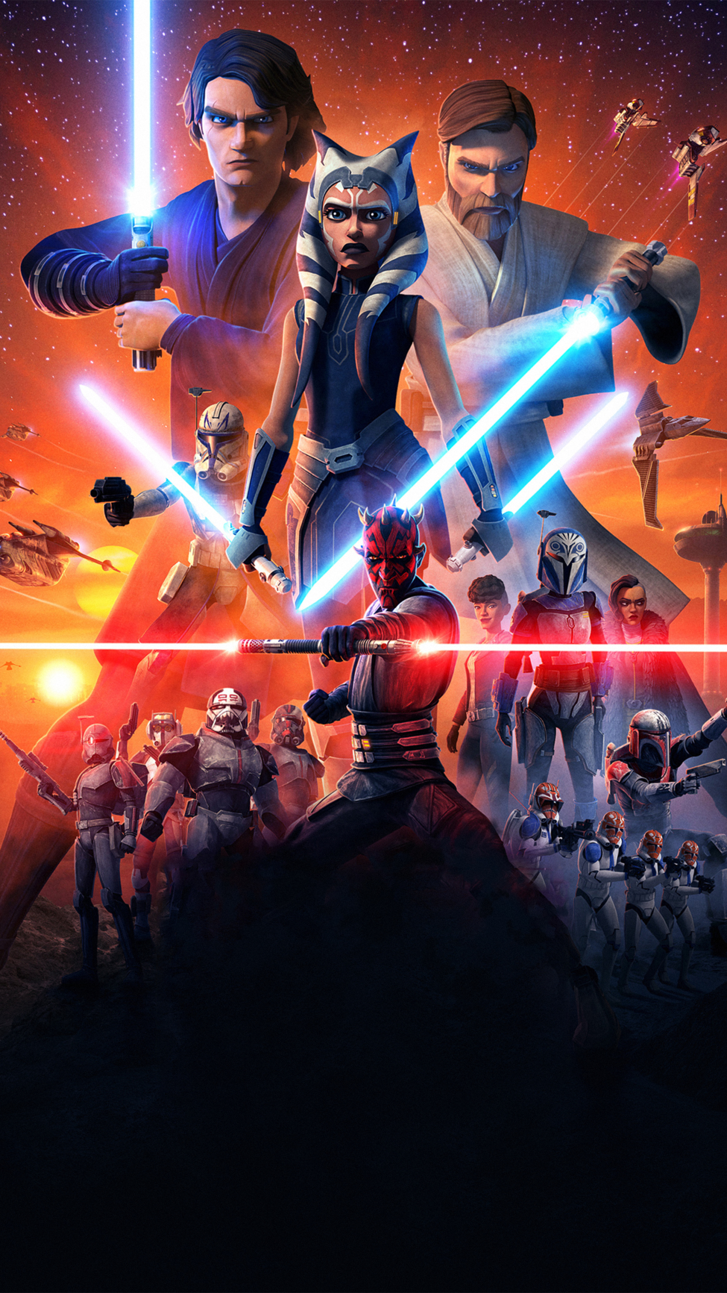 Star Wars The Clone Wars Iphone 2961246 Hd Wallpaper Backgrounds Download