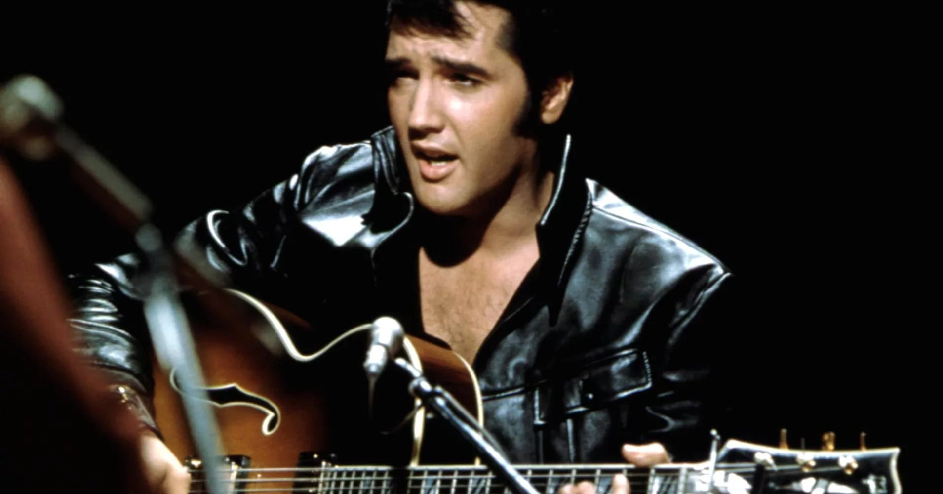 Cool Elvis Presley Wallpapers Images Great Wallpapers Elvis Presley In Leather 2964990 Hd Wallpaper Backgrounds Download