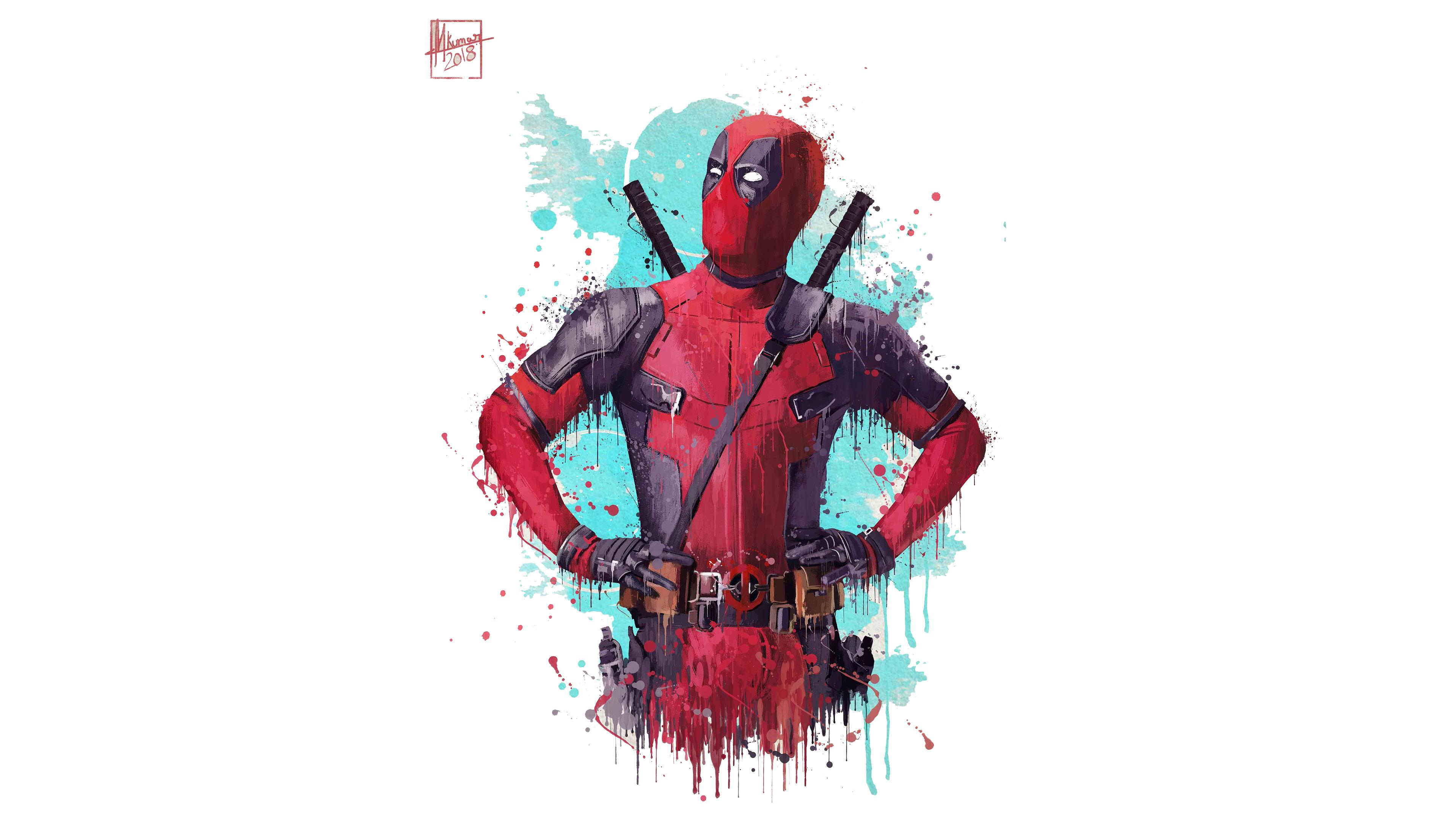 Deadpool 2 Artwork 4k Deadpool 2 Wallpaper 4k 2966509 Hd Wallpaper Backgrounds Download