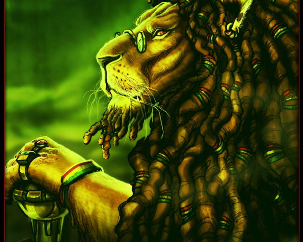 Rasta Lions , HD Wallpaper & Backgrounds