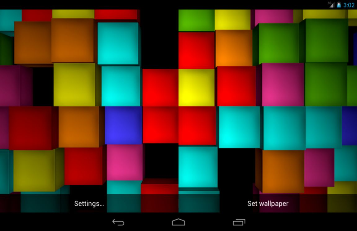 Photo Cube Live Wallpaper - 3d Cube Live Wallpaper Android , HD Wallpaper & Backgrounds