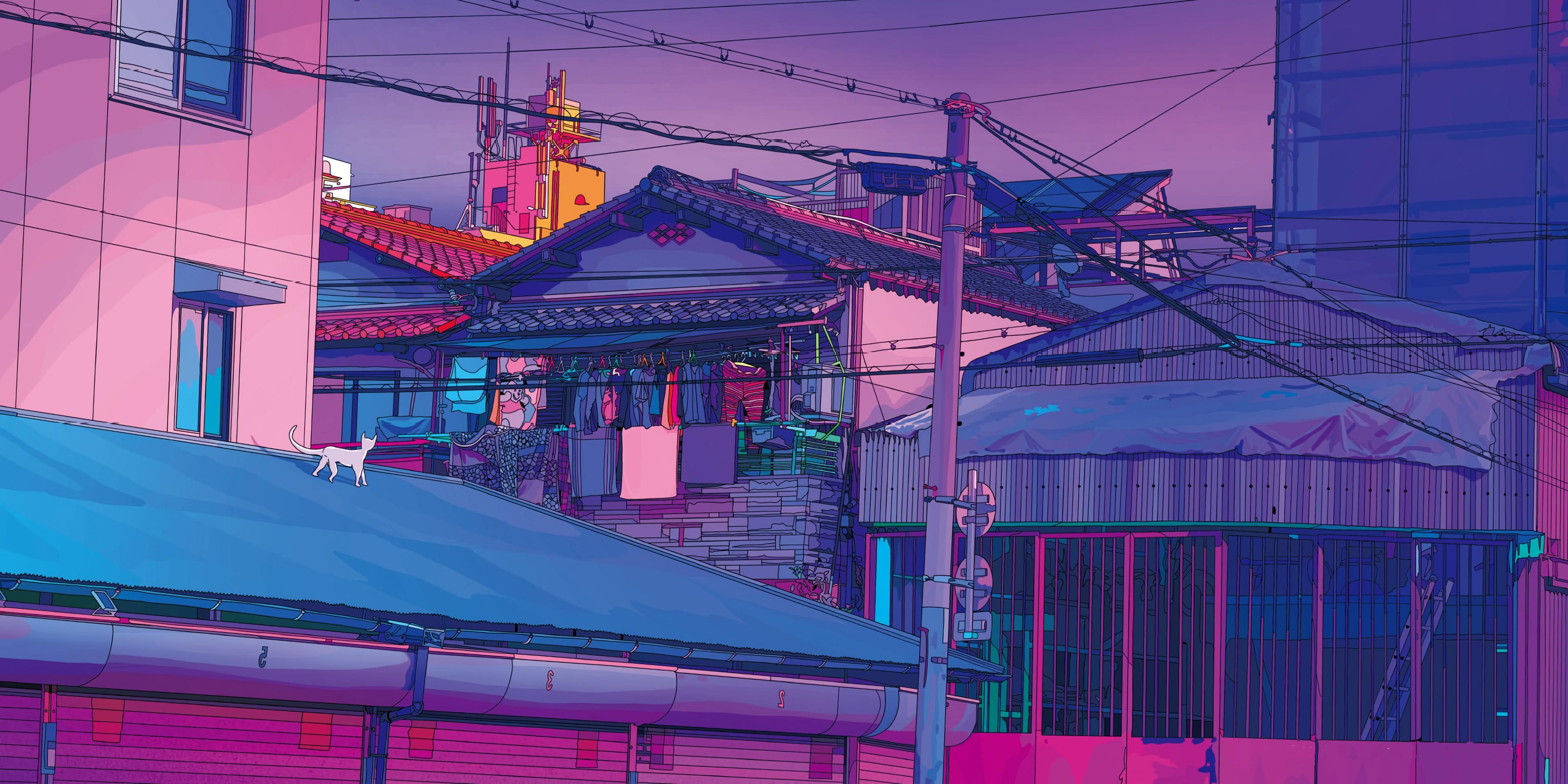 Aesthetic Tokyo Wallpaper Aesthetic Tokyo Wallpaper Desktop 2968592 Hd Wallpaper Backgrounds Download