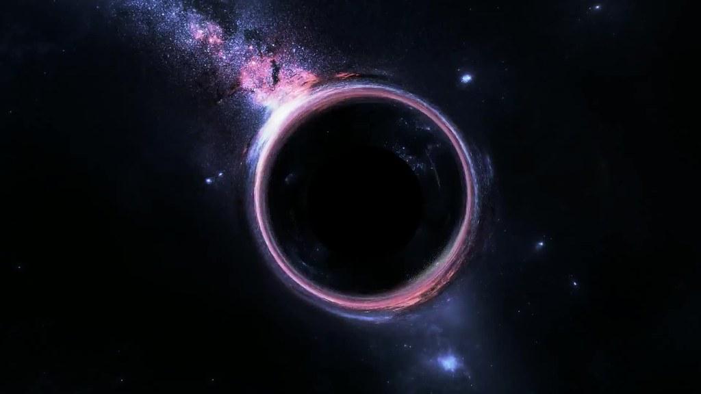 Black Hole Sci Fi Fantasy Live Wallpaper , HD Wallpaper & Backgrounds