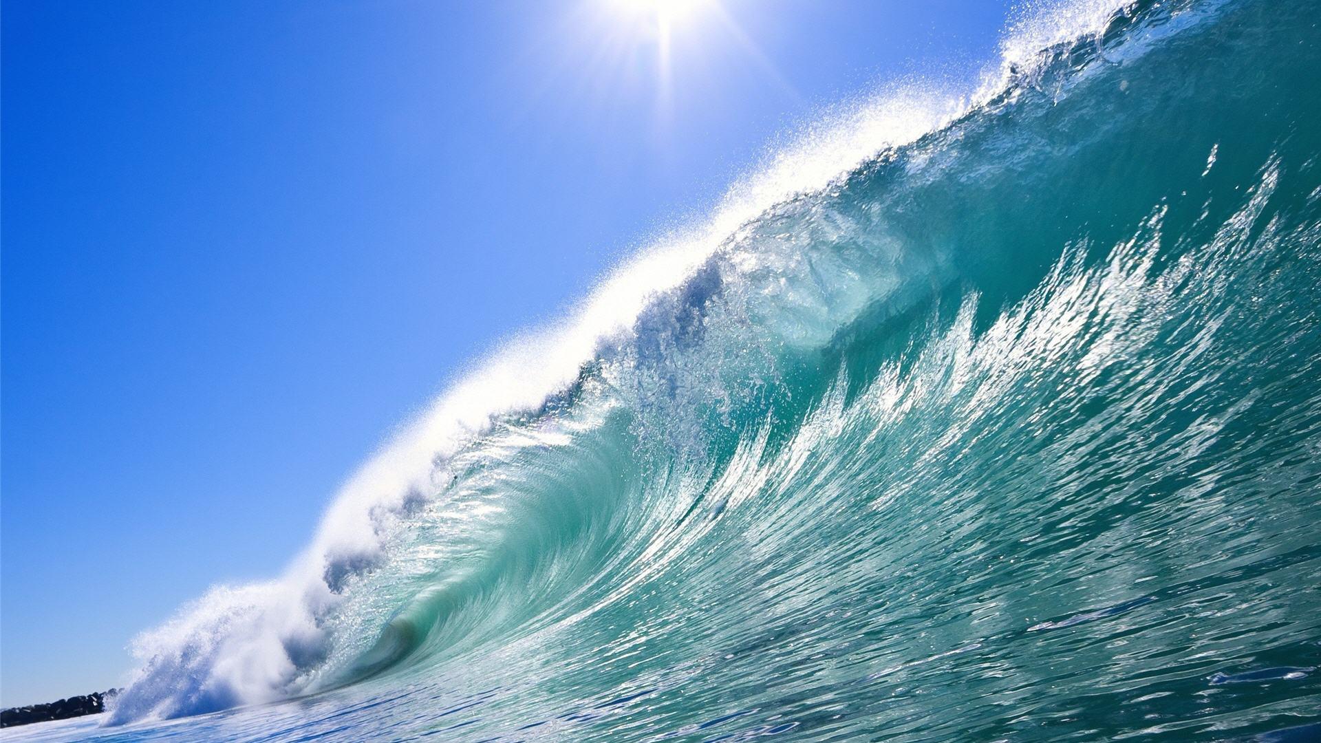 Ocean Waves Live Wallpaper Hd - Beautiful Beach Waves , HD Wallpaper & Backgrounds