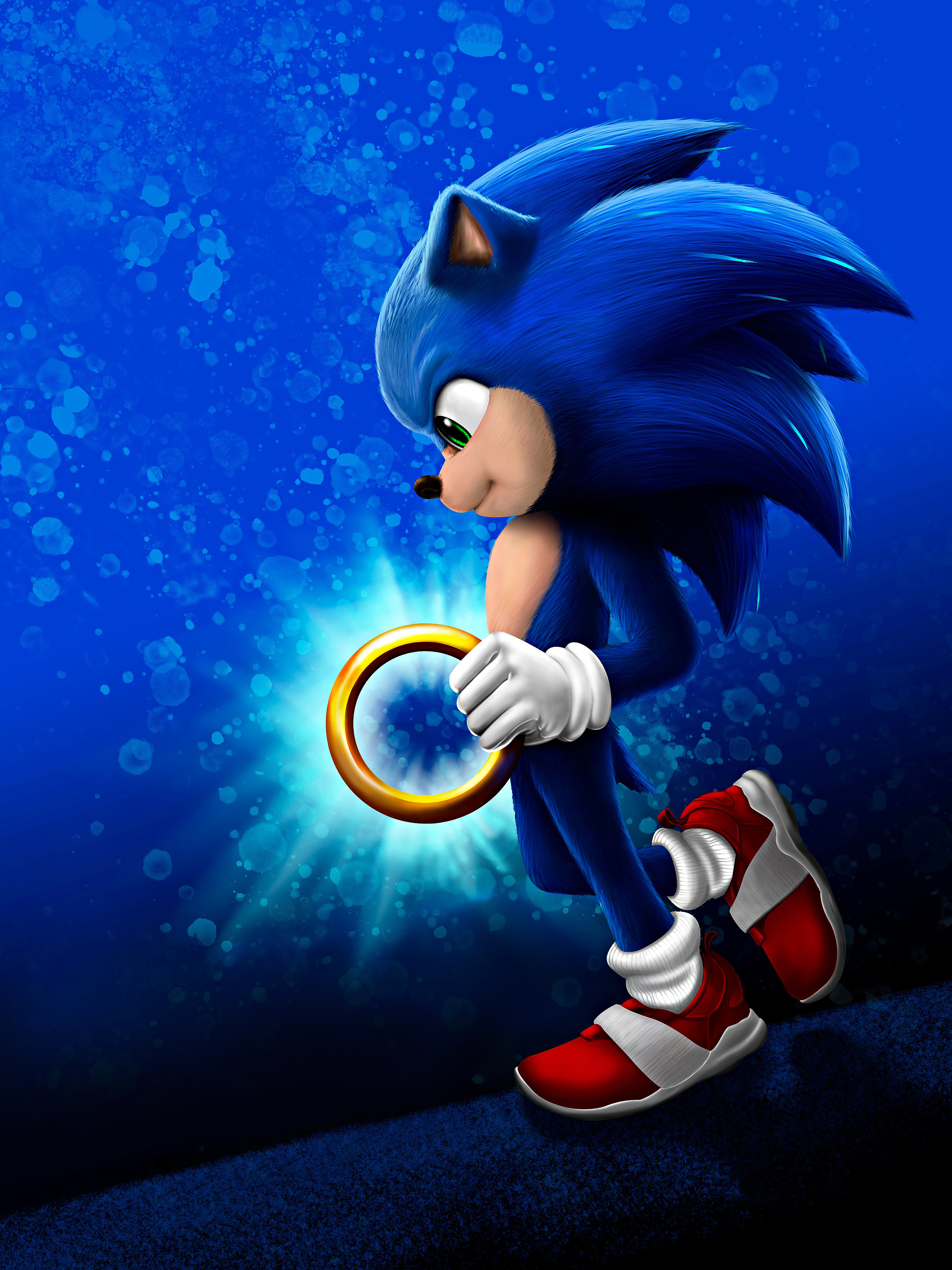 Sonic The Hedgehog Poster 2973219 Hd Wallpaper Backgrounds Download