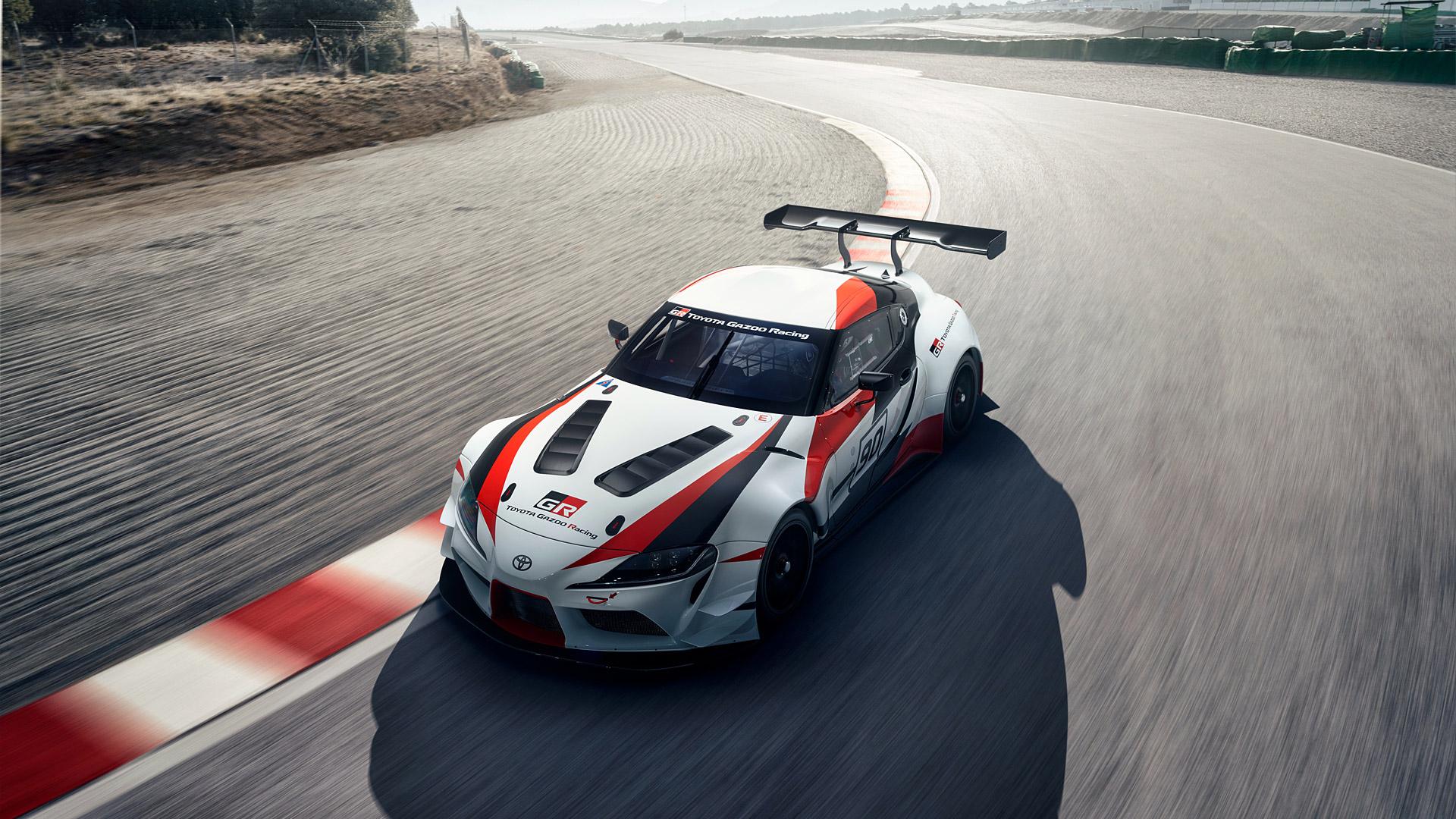 Toyota Gr Supra Racing - Supra Gran Turismo Sport , HD Wallpaper & Backgrounds