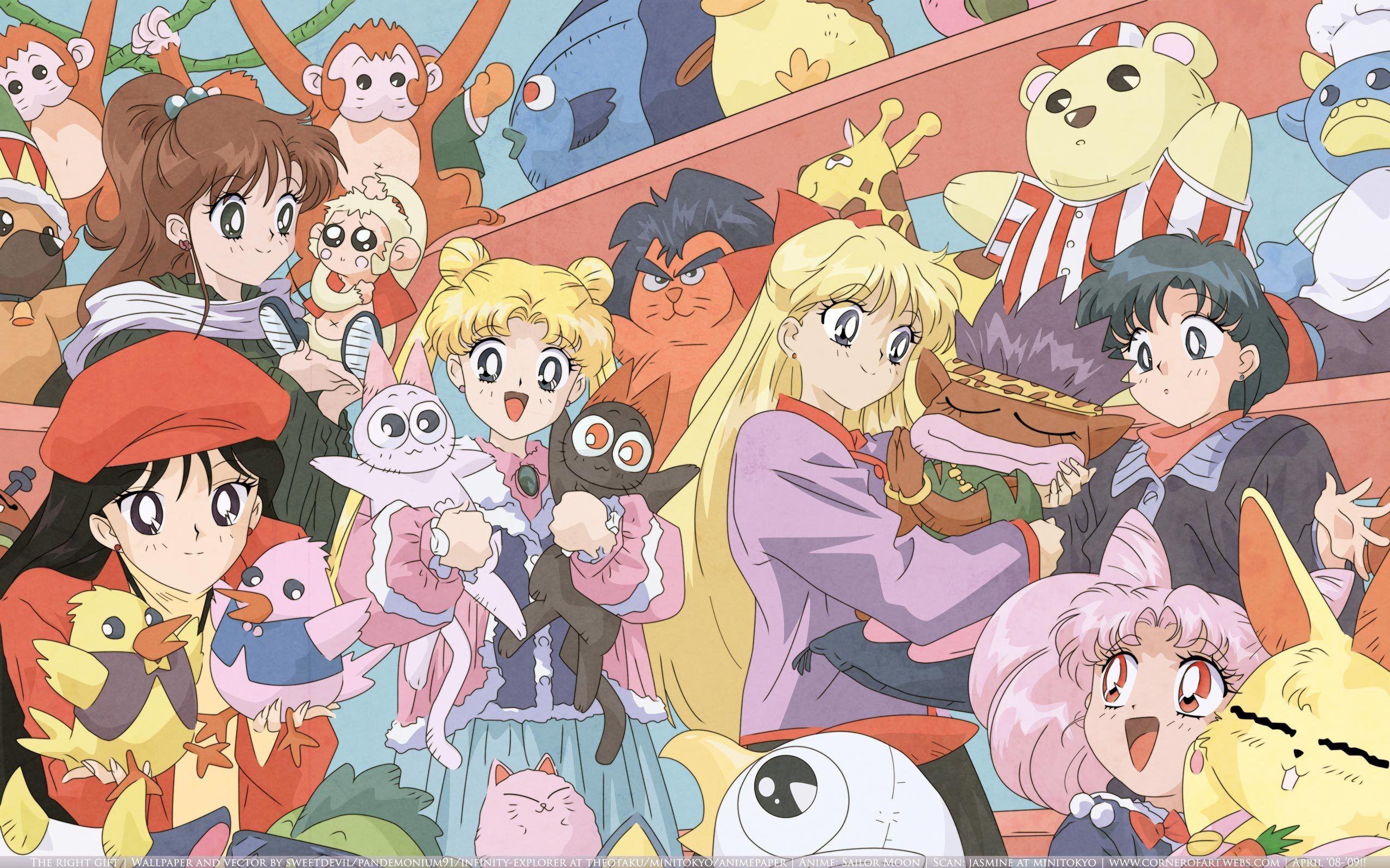 Sailor Moon Wallpaper Anime , HD Wallpaper & Backgrounds