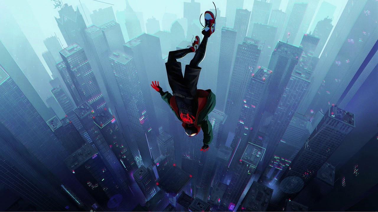spider man into the spider verse 2979902  hd wallpaper