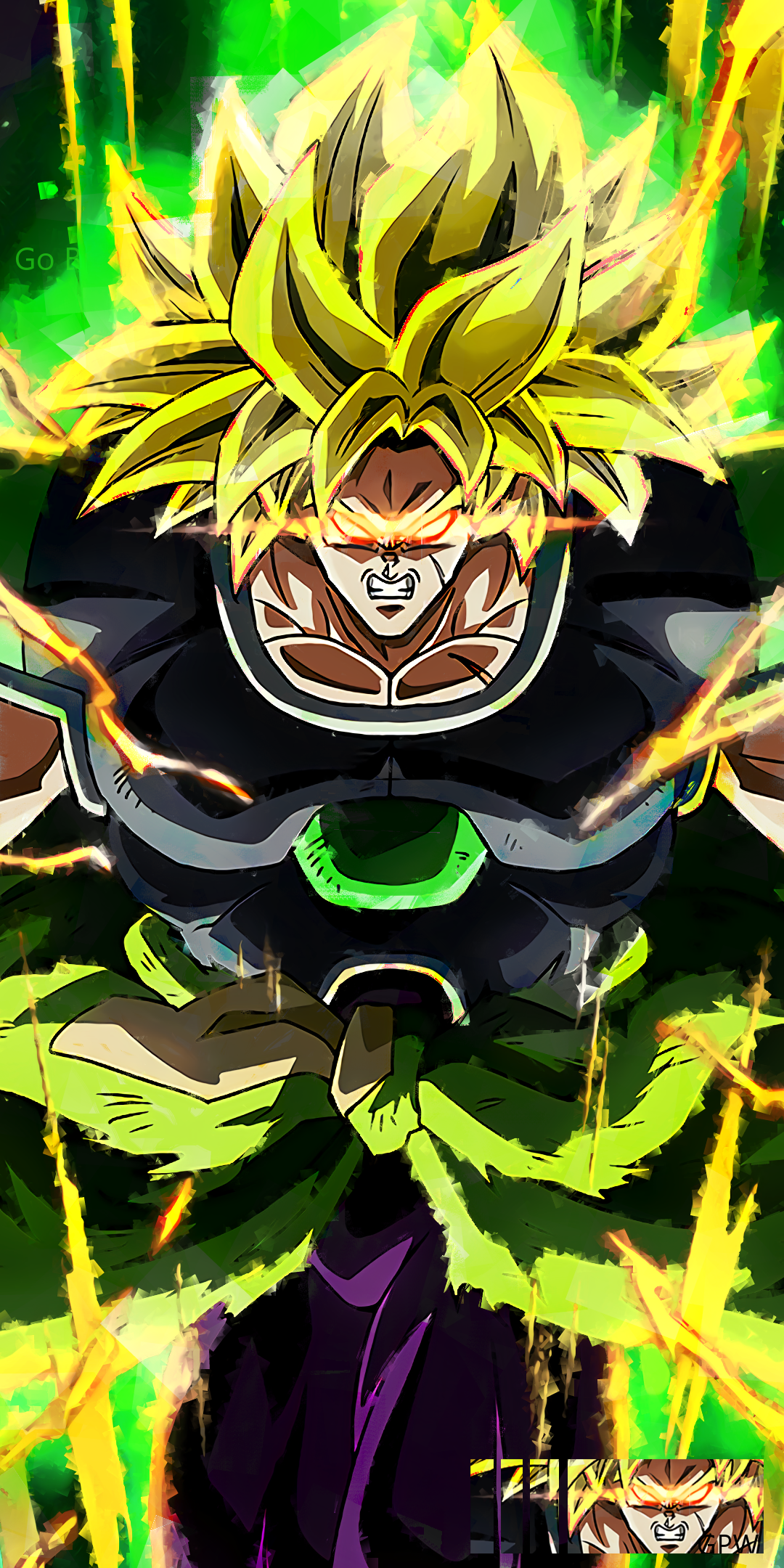 Dragon Ball Super Broly Super Saiyan Broly Super Saiyan Png 2980477 Hd Wallpaper Backgrounds Download