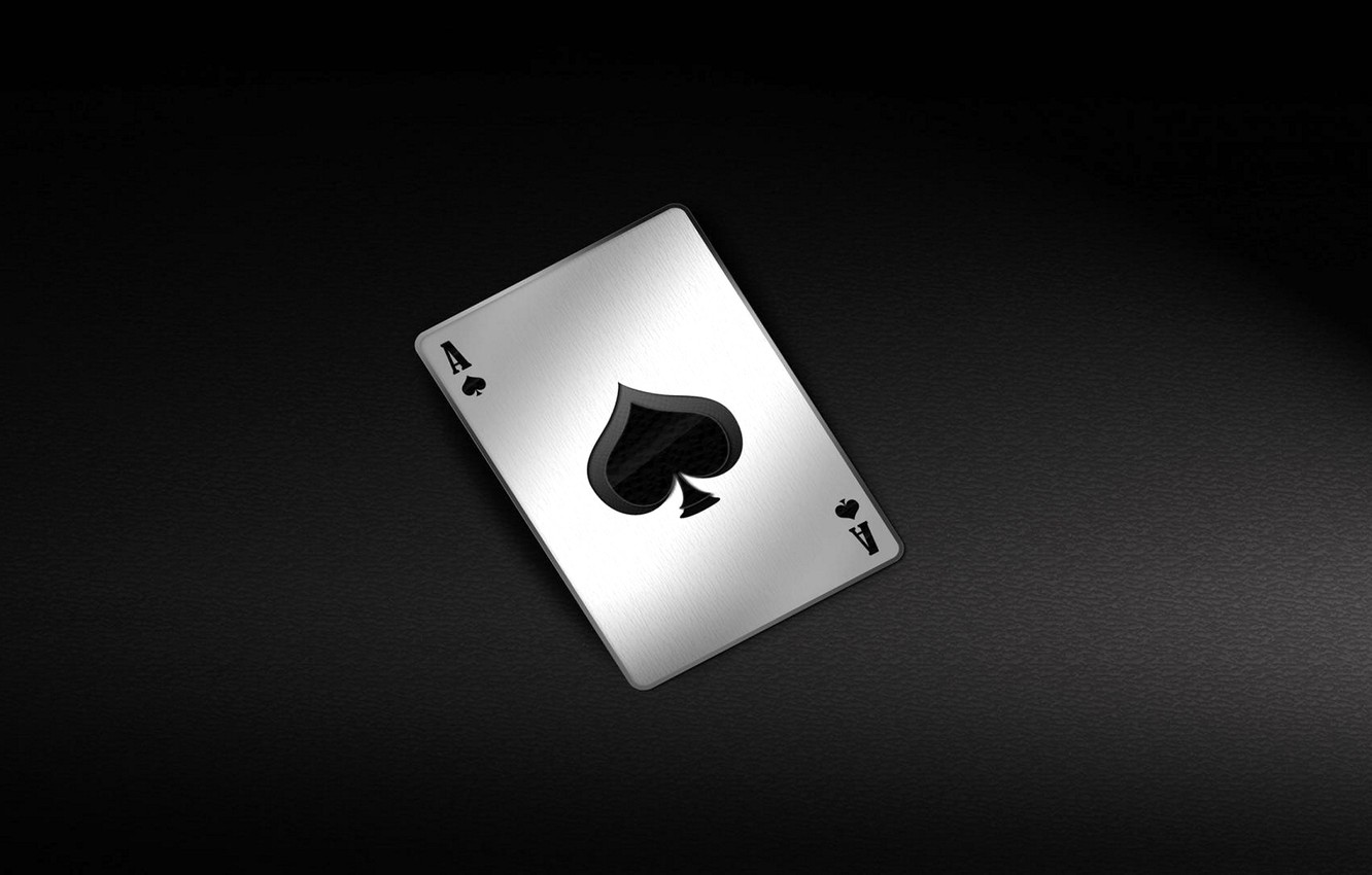 Photo Wallpaper Card The Game The Ace Of Spades Card Wallpaper Black Joker 2982024 Hd Wallpaper Backgrounds Download