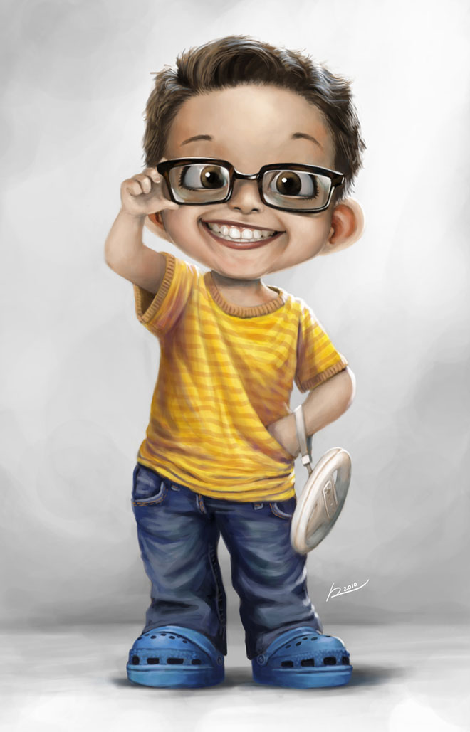 Boy Hairstyle Hd Wallpaper - Dibujos De Niños Animados Realistas , HD Wallpaper & Backgrounds