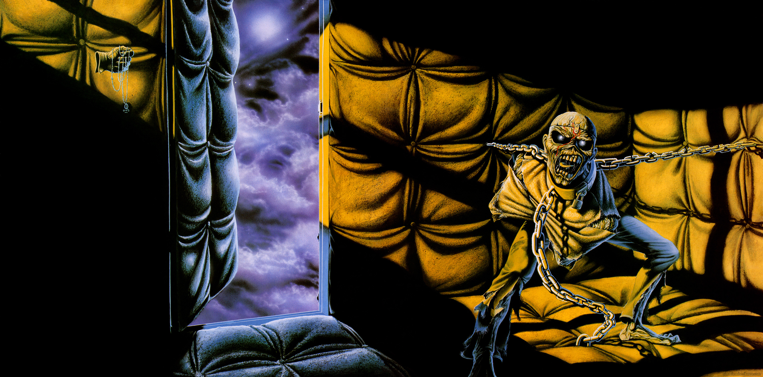 Metal Album Covers And Wallpapers - Iron Maiden Album Covers , HD Wallpaper & Backgrounds