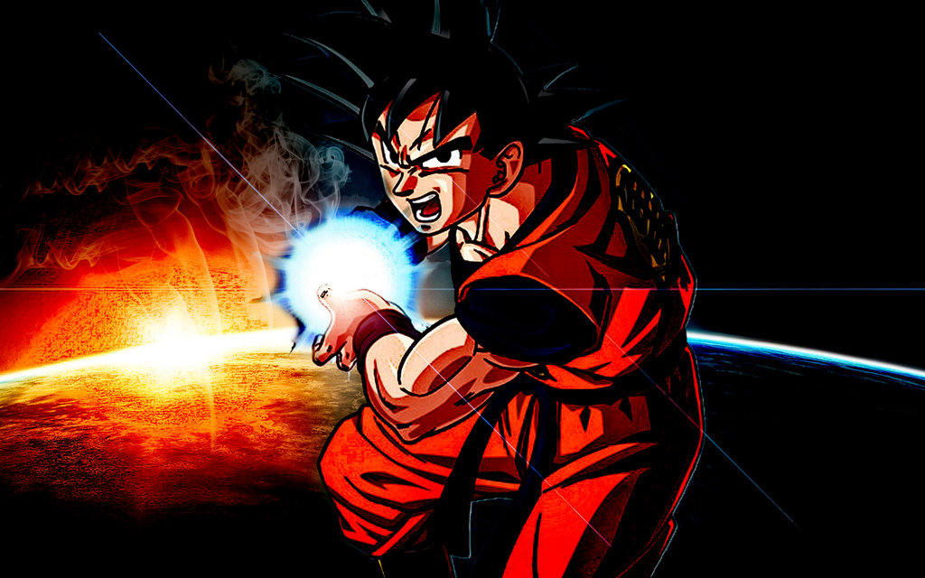 Son Goku Kamehameha Wallpaper Dbz Son Goku Wallpaper Goku Kamehameha Wallpaper Hd 2986506 Hd Wallpaper Backgrounds Download