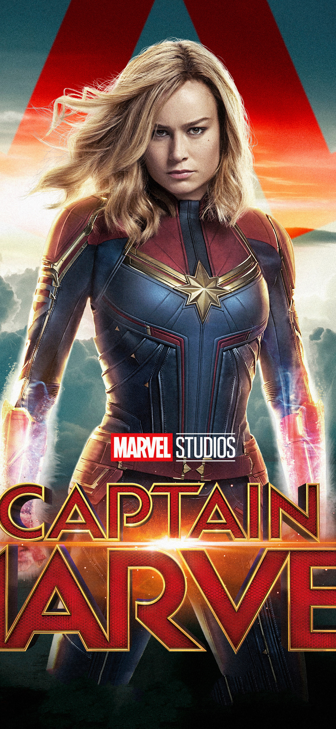 Captain Marvel Iphone X Wallpaper Hd , HD Wallpaper & Backgrounds