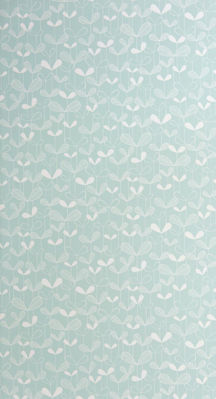 Saplings Pale Aqua Wallpaper - Missprint Saplings , HD Wallpaper & Backgrounds
