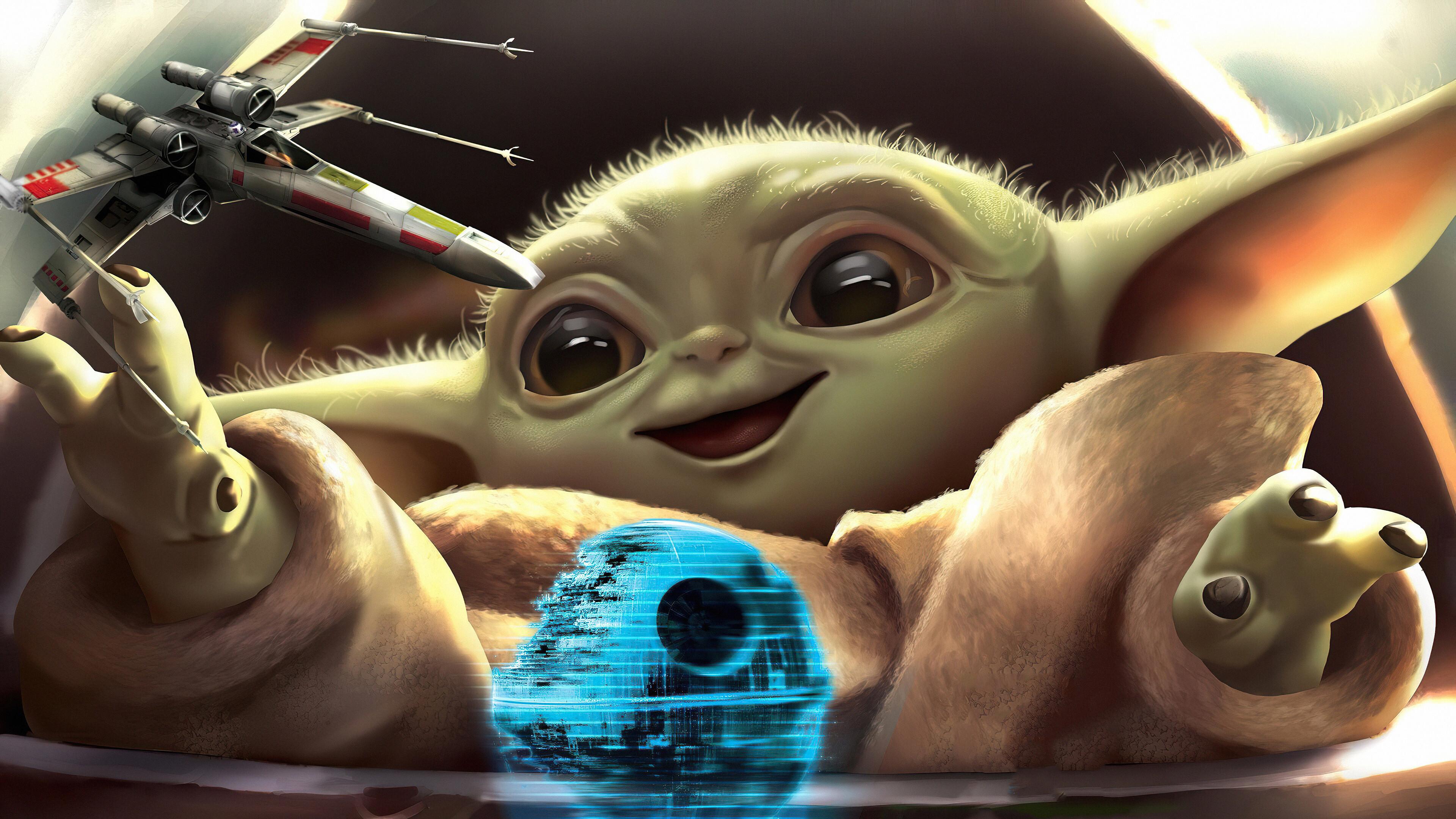 Star Wars Baby Yoda 2992849 Hd Wallpaper Backgrounds Download