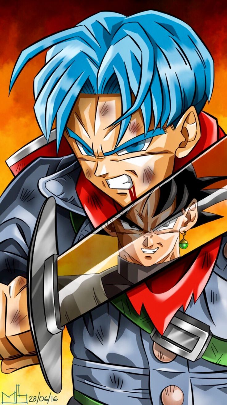 Trunks Iphone Wallpaper Future Trunks Wallpaper Iphone 2992879 Hd Wallpaper Backgrounds Download