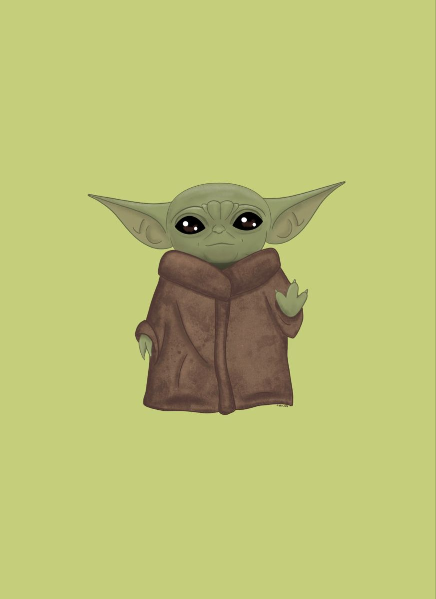 299 2993899 star wars wallpaper for ipad iphone green baby