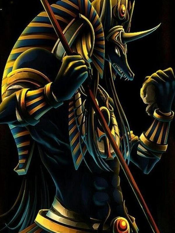 Anubis Wallpaper Anubis Wallpaper For Android Apk Download - Egyptian God Anubis , HD Wallpaper & Backgrounds