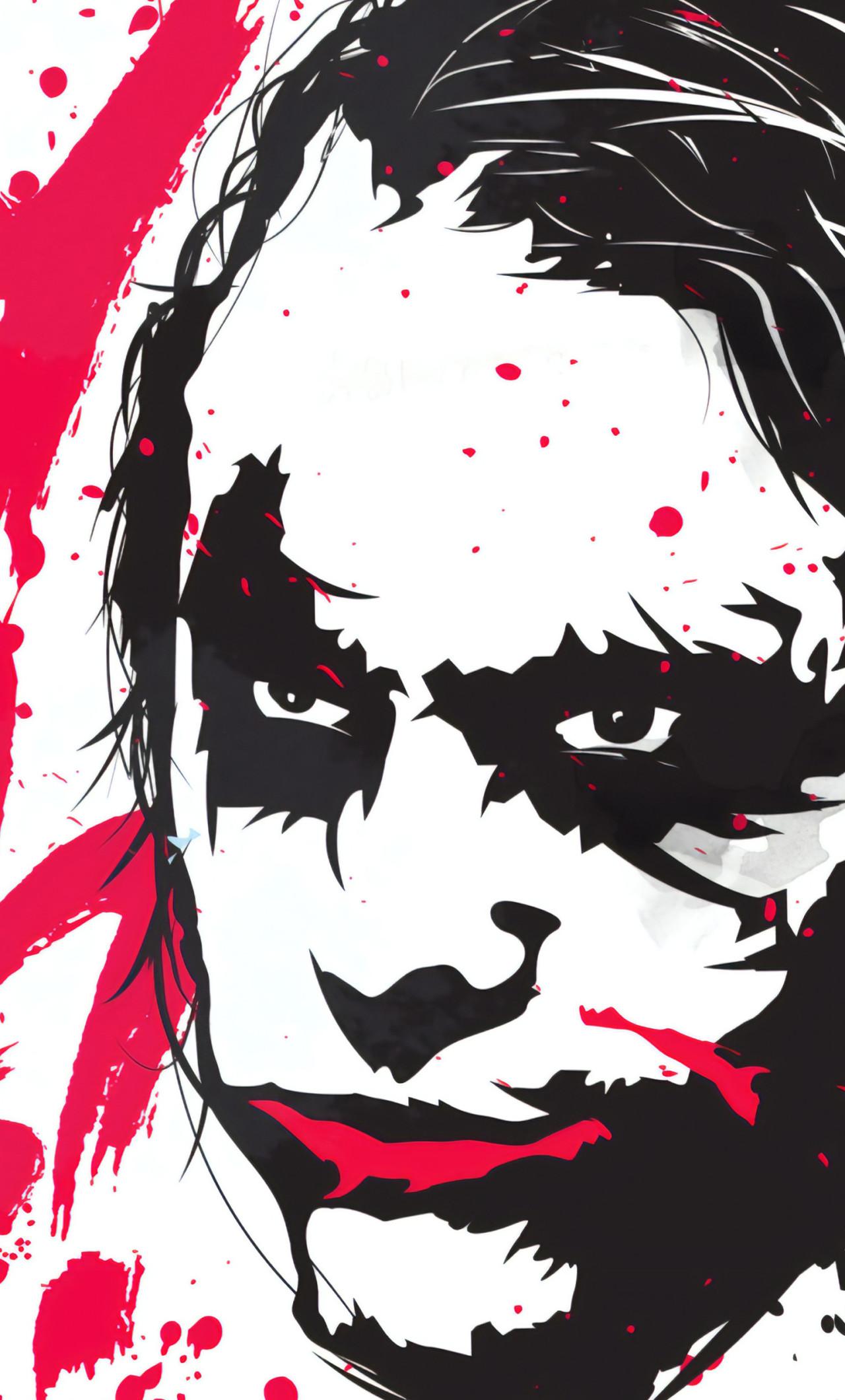 Joker Why So Serious Art - So Serious Wallpaper Hd , HD Wallpaper & Backgrounds