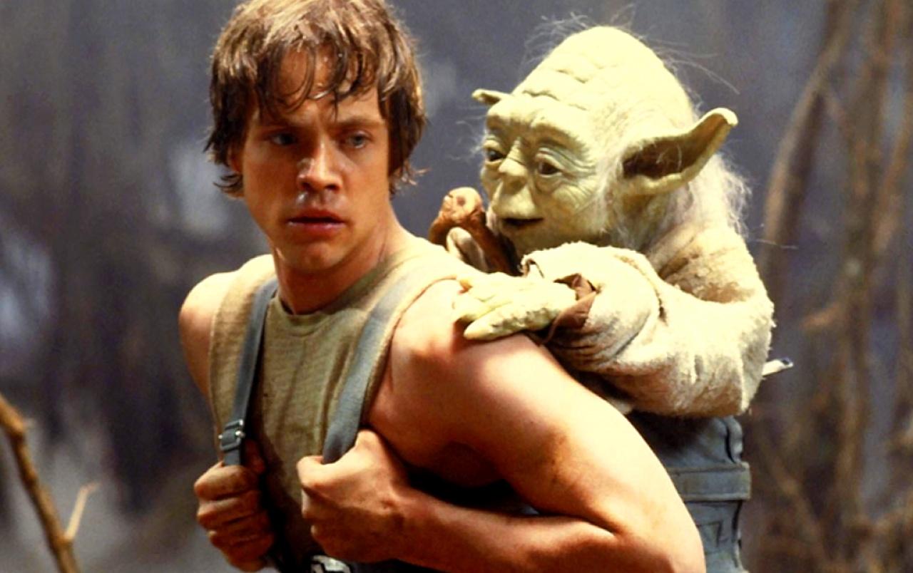 Yoda And Luke Wallpapers Yoda Luke 2994901 Hd Wallpaper Backgrounds Download