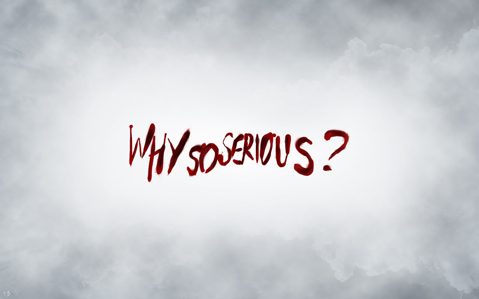 Why So Serious Wallpaper - You Re So Serious , HD Wallpaper & Backgrounds