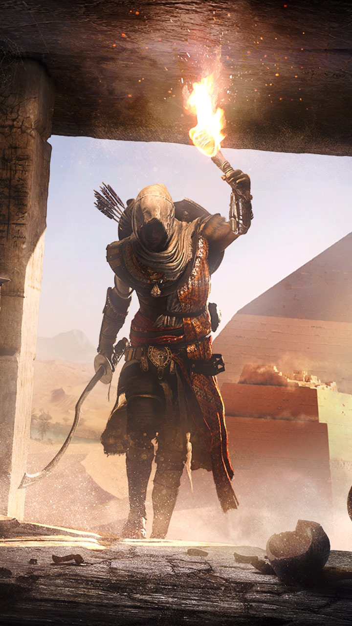 Download Assassin's Creed Origins Wallpaper Iphone Background