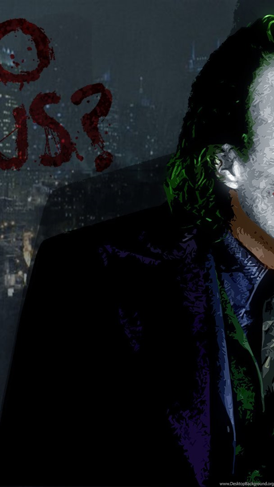 Joker Wallpapers Why So Serious Dark Knight - So Serious Joker Hd , HD Wallpaper & Backgrounds