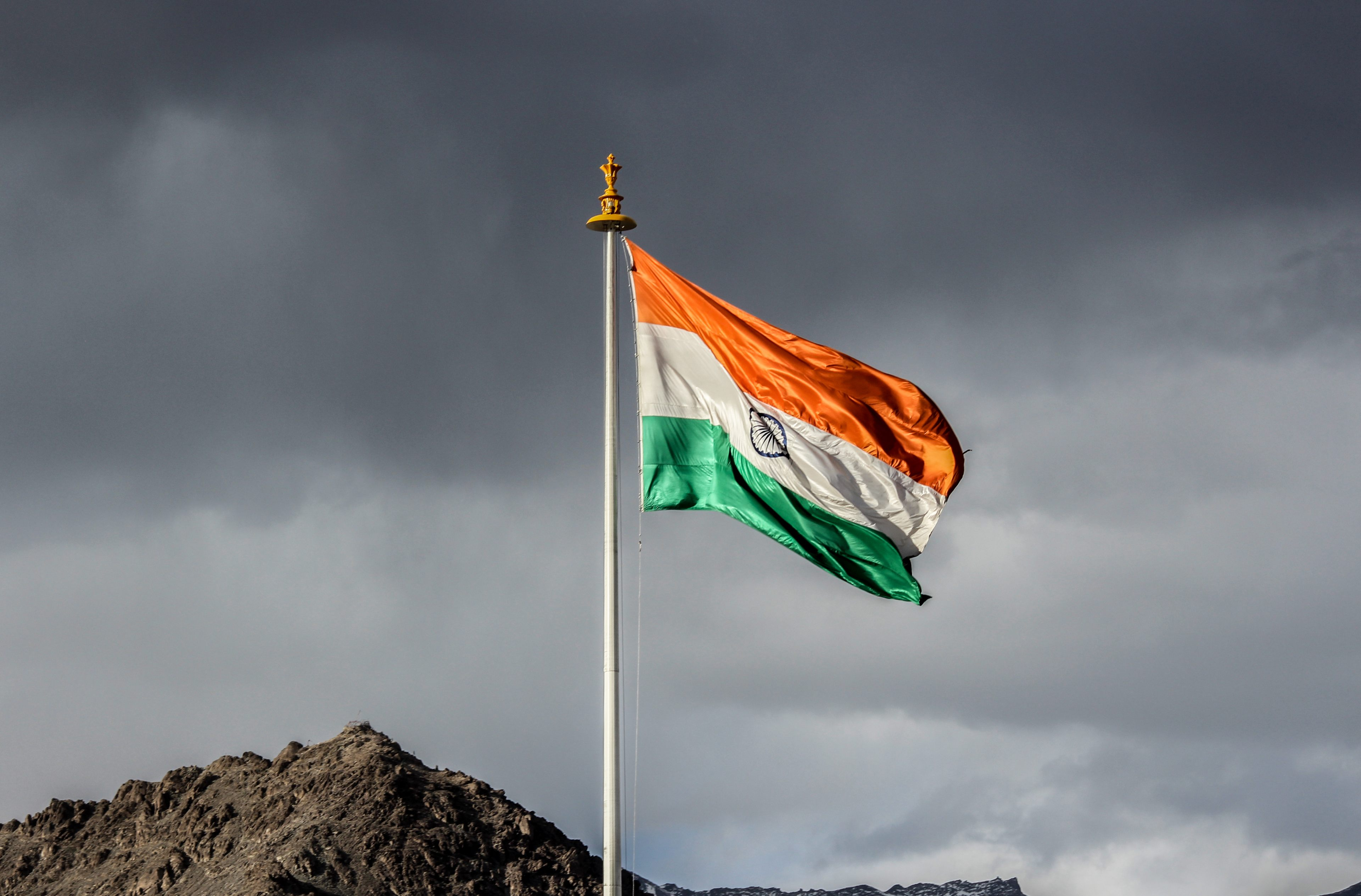 Awesome Beautiful Indian Flag Wallpaper 4k At Mountain Indian Flag 4k Wallpaper For Mobile 30843 Hd Wallpaper Backgrounds Download