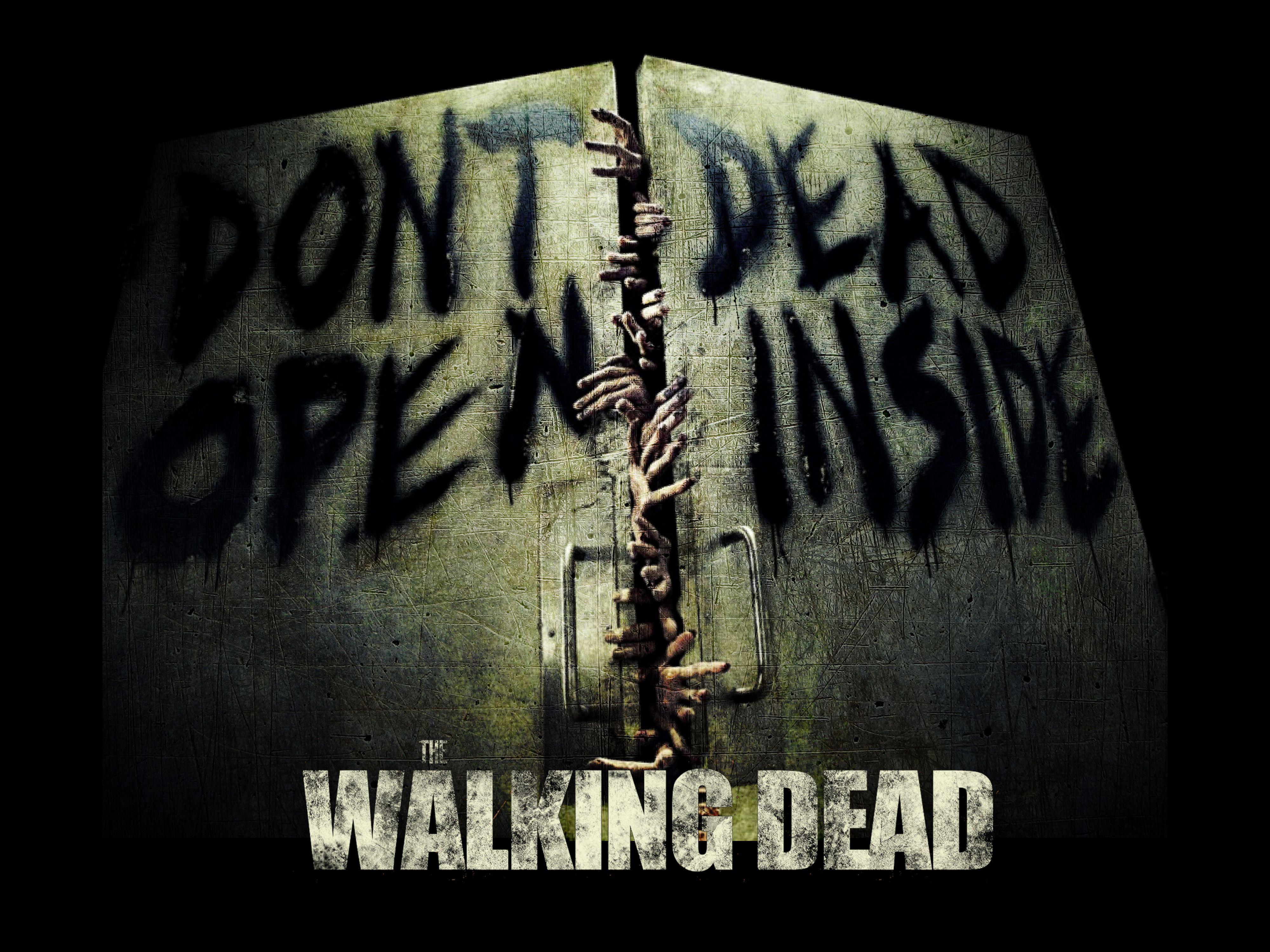 The Walking Dead Wallpaper Walking Dead Dont Open Dead Inside