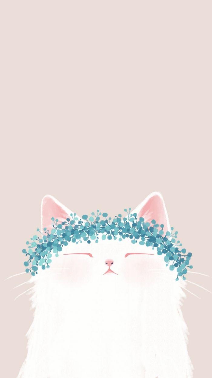 Pin By Marisa Crocetta On Arttttart In 2018 - Cat Background , HD Wallpaper & Backgrounds