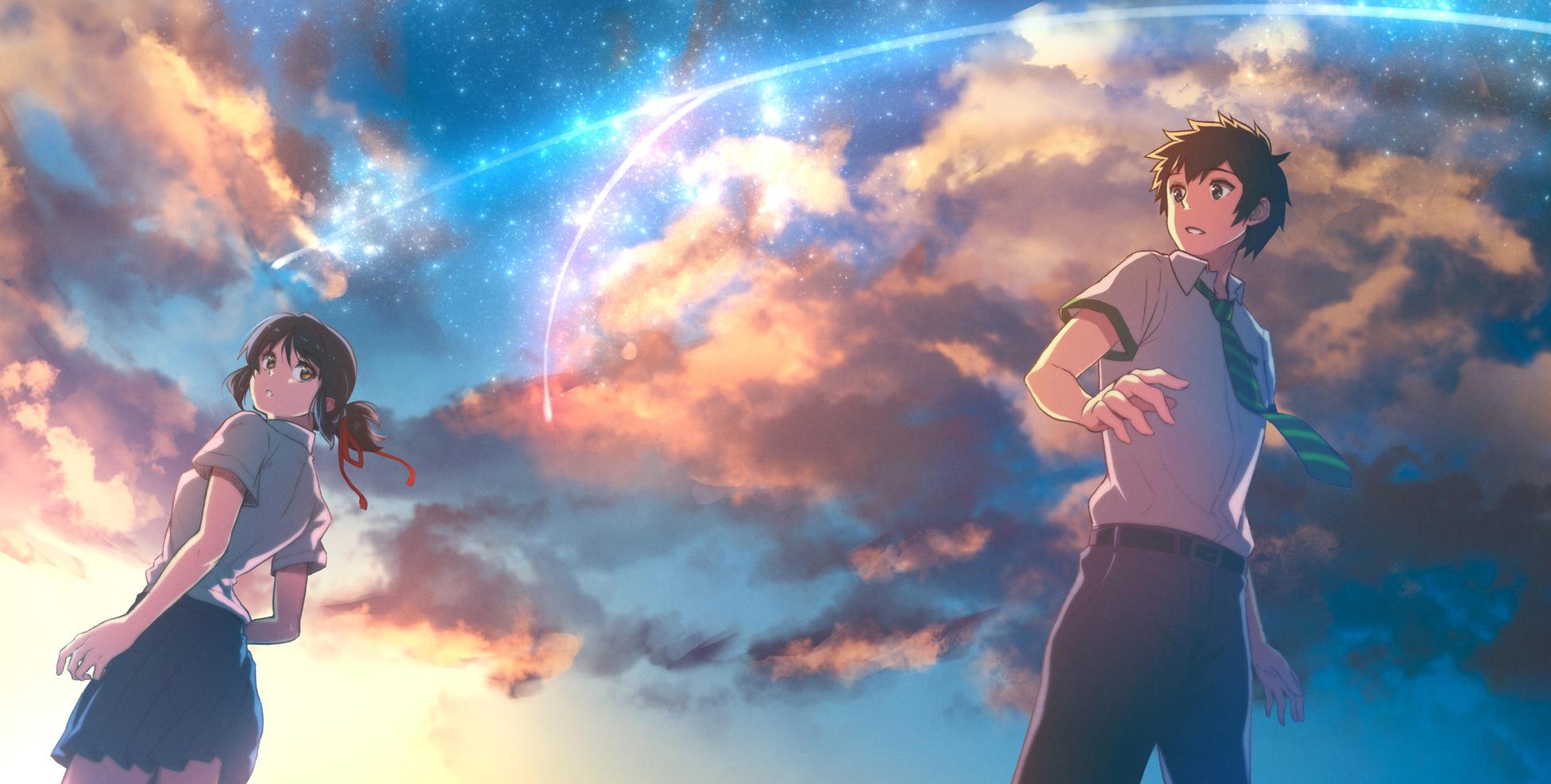 Download Kimi No Na Wa - Your Name Wallpaper 1080p , HD Wallpaper & Backgrounds