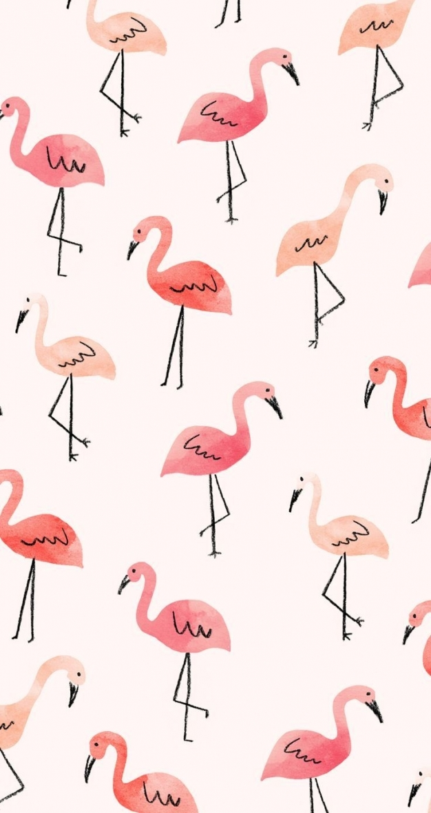 25 Trending Artsy Wallpaper Iphone Ideas On Pinterest - Flamingo Backgrounds , HD Wallpaper & Backgrounds