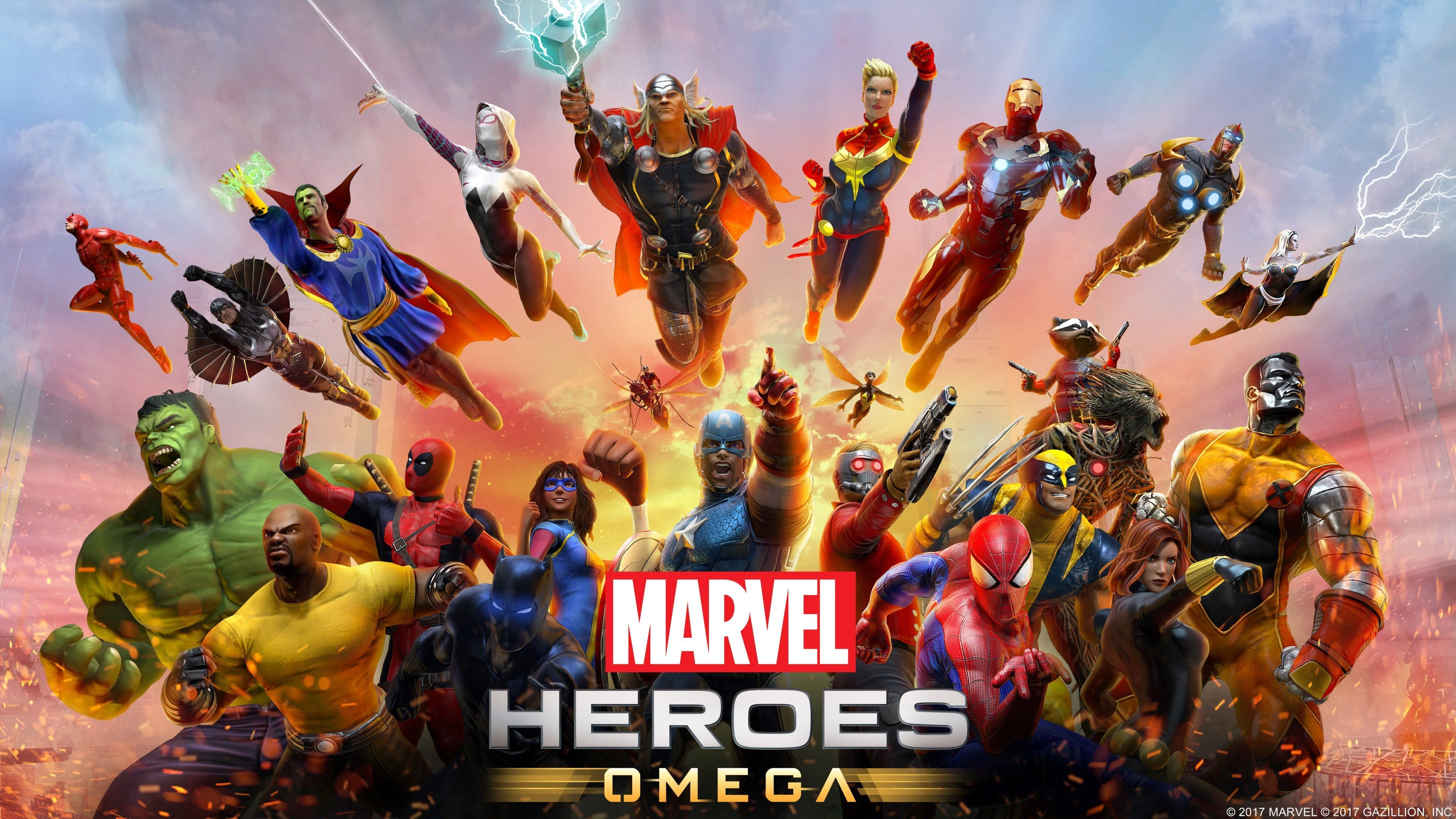 Marvel Heroes Omega 4k Wallpaper Hd Puter Desktop Marvel