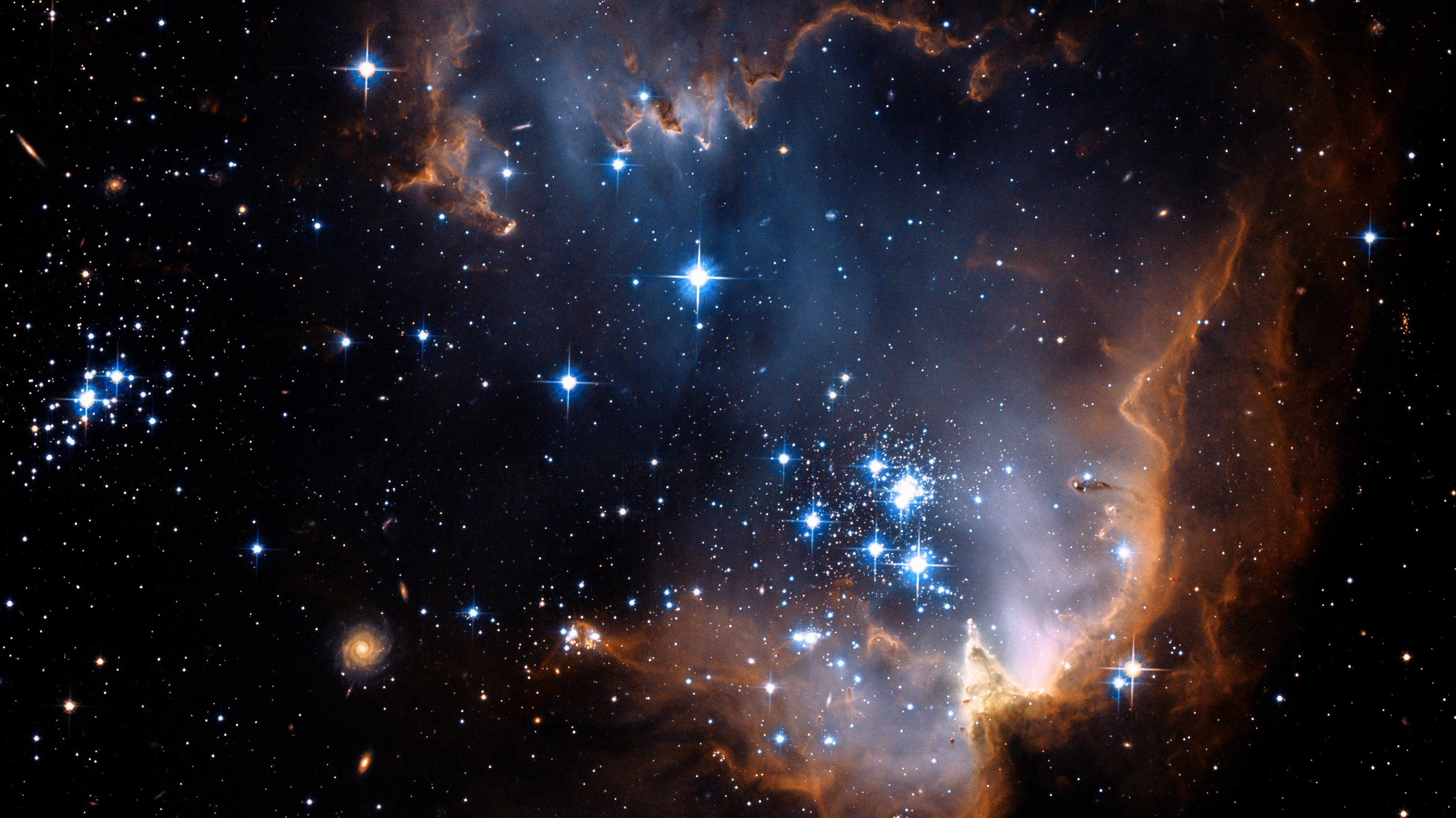 4k Deep Space Wallpapers - Beautiful Background Of Stars , HD Wallpaper & Backgrounds