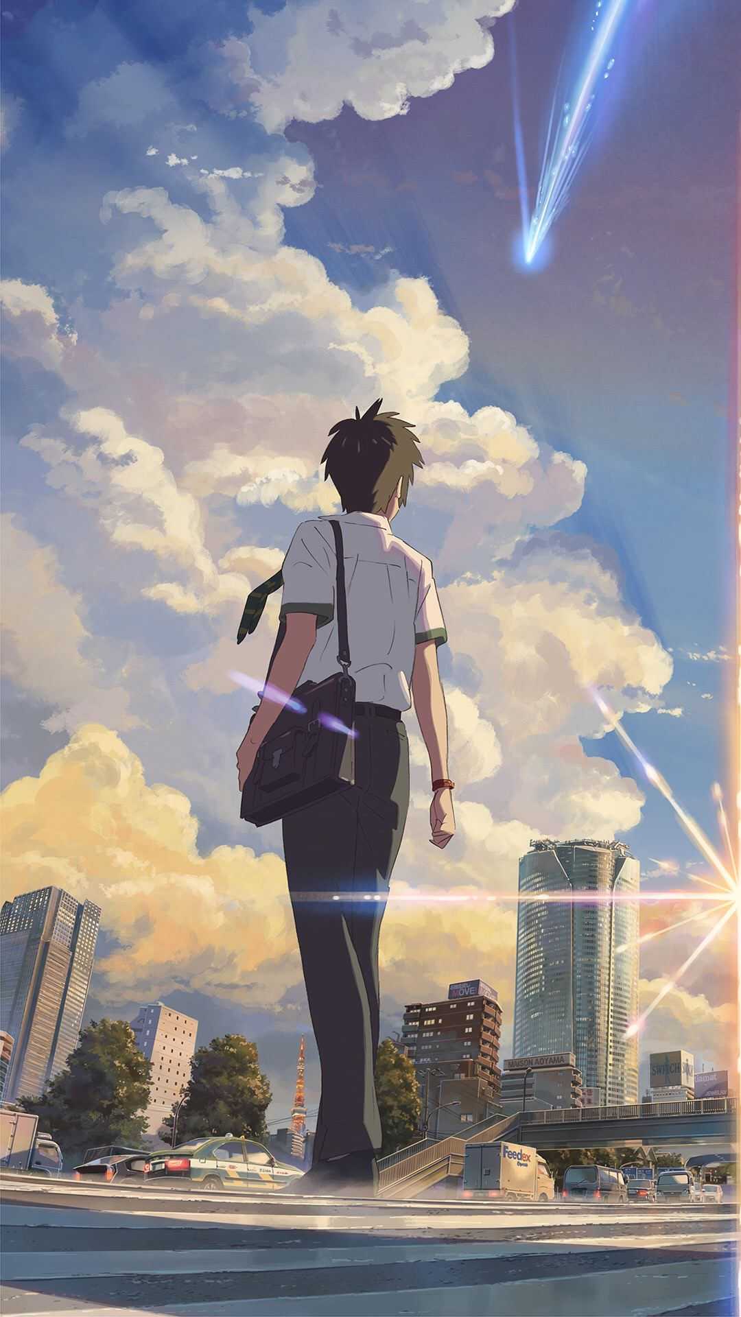 Your Name Iphone X Wallpapers Anime Wallpaper Iphone X 33767