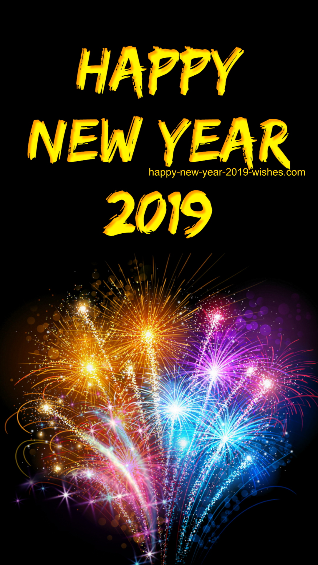 Best Happy New Year Wallpaper 2019 94 For Your Background