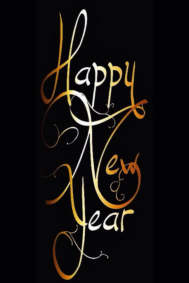 New Year Iphone Wallpaper - Happy New Year Elegant , HD Wallpaper & Backgrounds