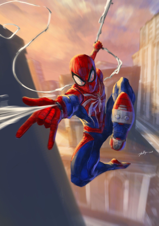 Spider Man Ps4 Marvel Spider Man Ps4 Comic 34102 Hd
