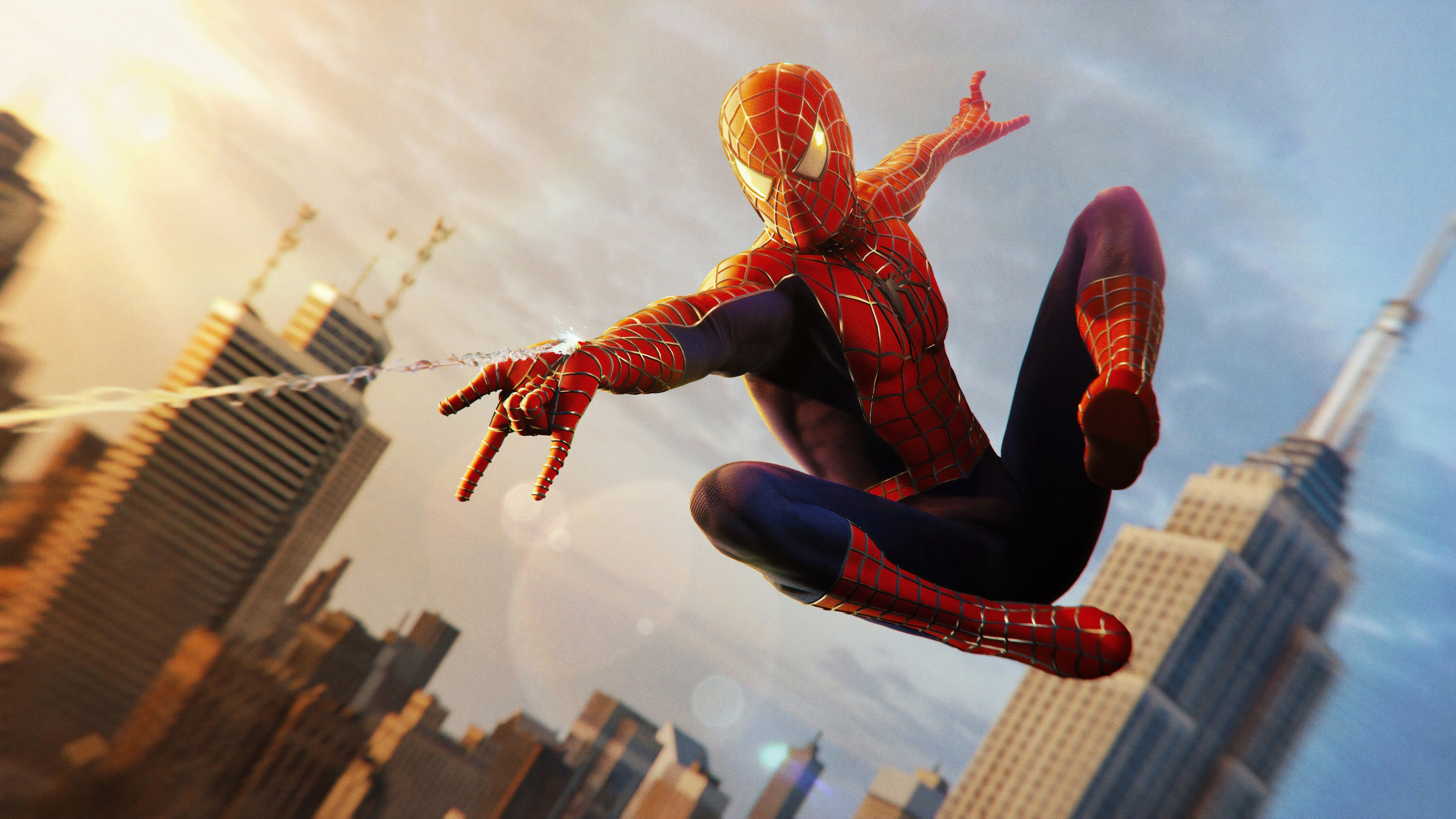 Spider Man Ps4 Wallpaper Spider Man Ps4 Raimi Suit 34232