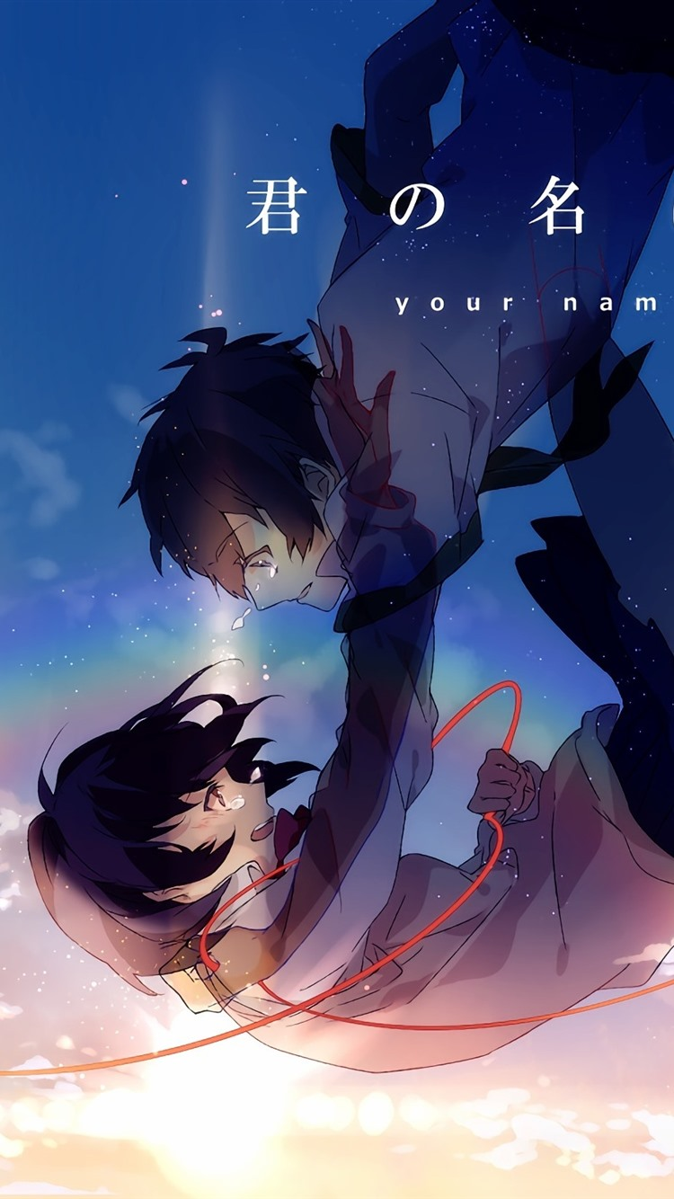 Download This Wallpaper Your Name Red String Of Fate 34742