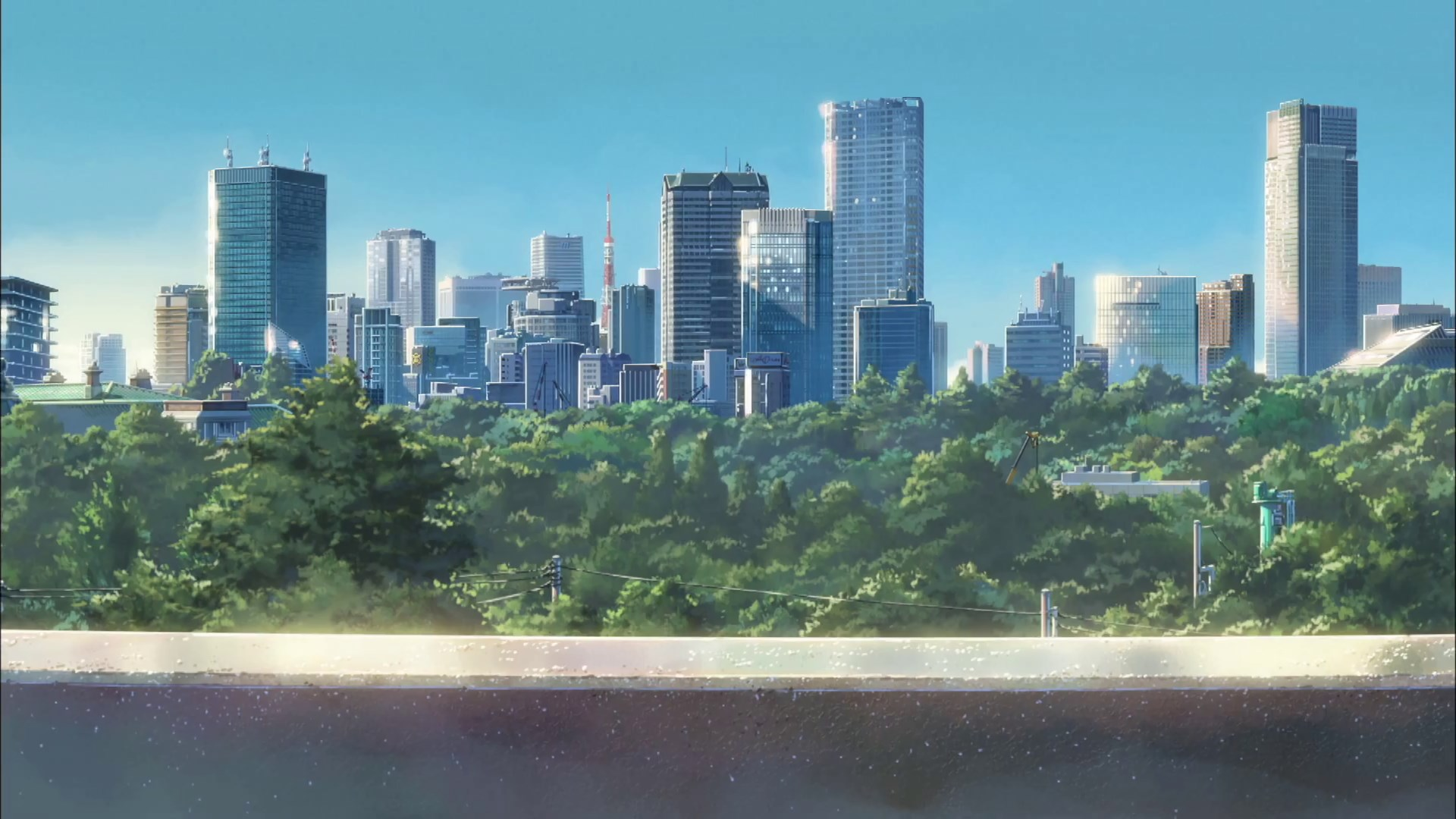 1920×1080 Pretty Your Name Wallpaper Wpc9201134 - Your Name Background Art , HD Wallpaper & Backgrounds