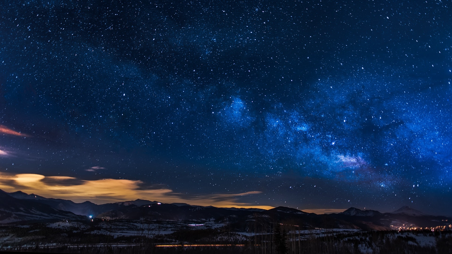 Clouds Stars In Sky Wallpaper - Night Sky With Clouds And Stars , HD Wallpaper & Backgrounds