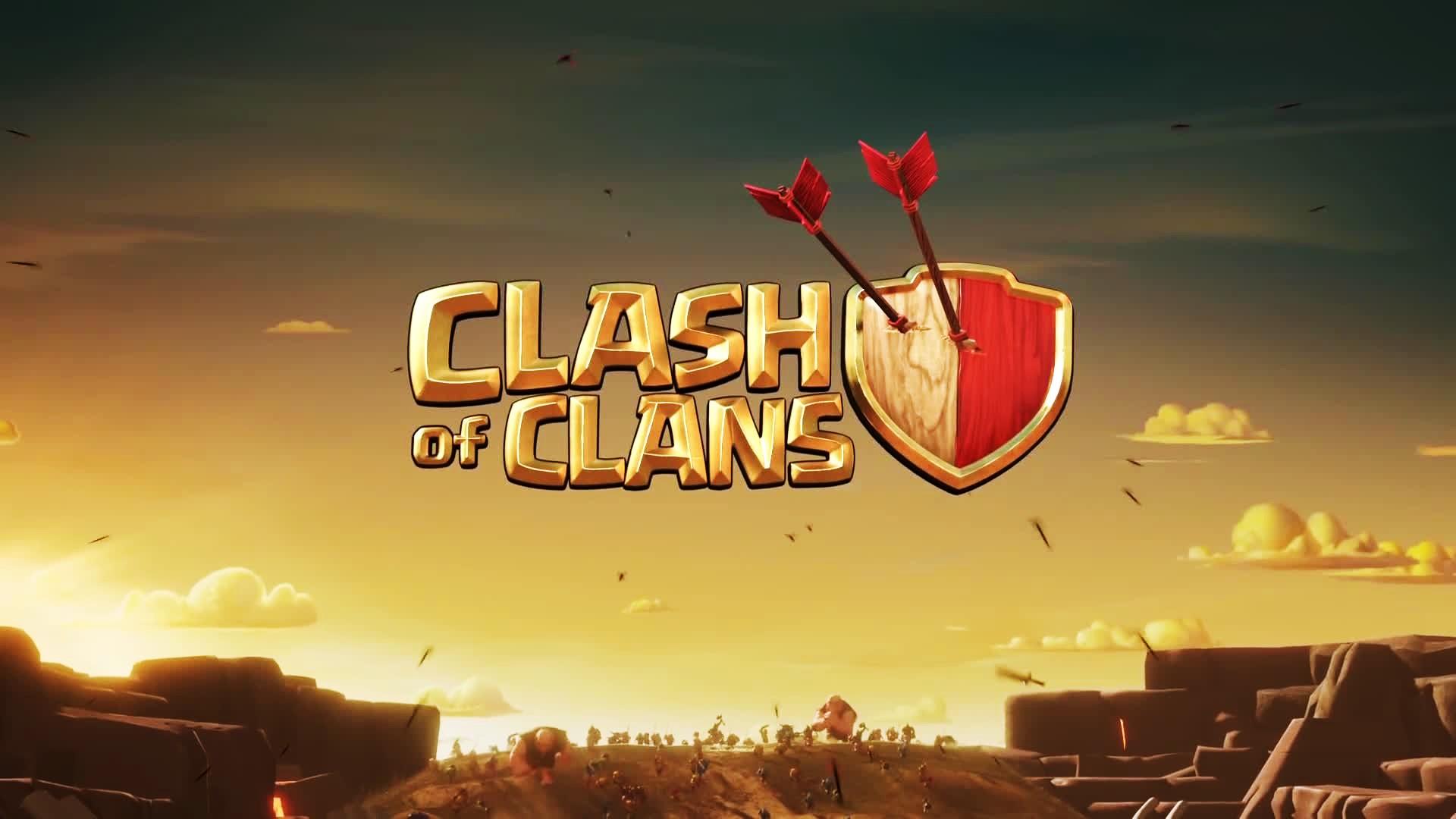Clash Of Clans Hq Desktop Wallpaper - Clash Of Clans Background , HD Wallpaper & Backgrounds